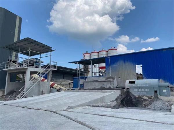 湖南工地现场分离机压滤机使用案例