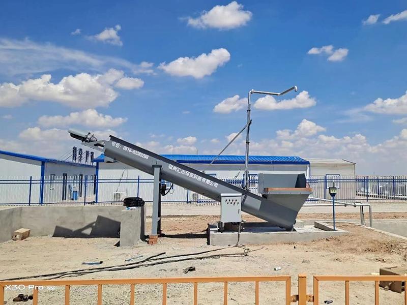 内蒙古客户使用汇杰砂石分离机产品
