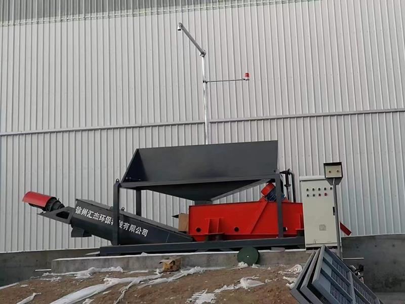 湖南长沙客户使用我司第四代混凝土砂石分离机效果展示!
